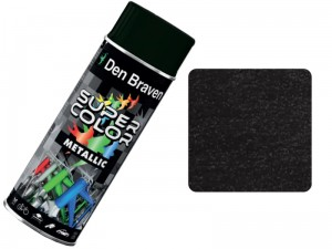 Metallic spray paint Black 400ml at Wasserman.eu
