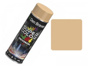 Universal beige spray paint 400ml at Wasserman.eu