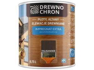 Drewnochron Extra 0.75L Rosewood coating-forming impregnant at Wasserman.eu
