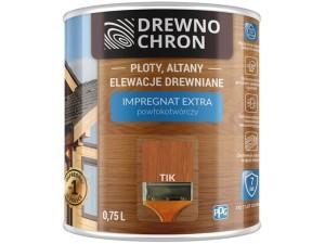Drewnochron Extra coating-forming impregnant 0.75L Tik at Wasserman.eu