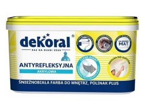 Polinak + Dekoral 1L anti-reflective acrylic paint at Wasserman.eu
