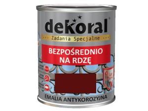 Anticorrosion Dekoral Anticorrosive Bronze Medium Gloss 0.65L at Wasserman.eu