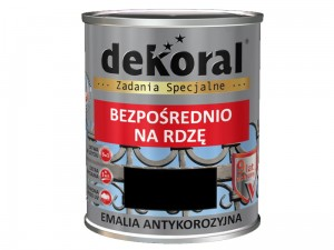 Anticorrosion Dekoral Anticorrosive Black Half Mat 0.65L at Wasserman.eu