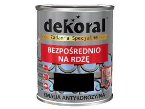 Anticorrosion Dekoral Anticorrosive Black Gloss 0.65L at Wasserman.eu