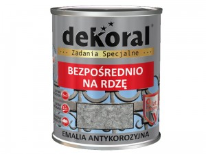 Enamel Dekoral Antykor Gray and silver hammer 0.65L at Wasserman.eu