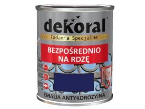 Anticorrosion Dekoral Anticorrosion Dark blue Gloss 0,65L at Wasserman.eu