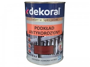 Dekoral Anticorrosive undercoat Red oxygen 0.9L at Wasserman.eu