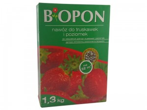 Biopon fertilizer for strawberries and wild strawberries 1.3 kg at Wasserman.eu