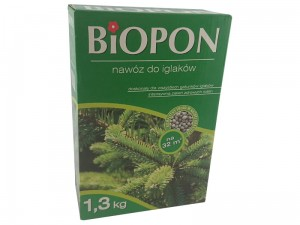 Biopon fertilizer for conifers 1.3 kg carton at Wasserman.eu