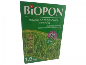 Biopon fertilizer for grass regeneration carton 1.3 kg at Wasserman.eu