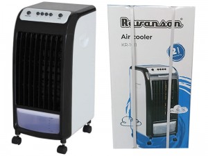 Air conditioner with Ravanson water pump. Water fan at Wasserman.eu