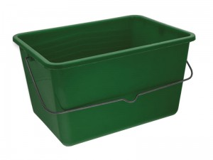 8L painting bucket with handle at Wasserman.eu