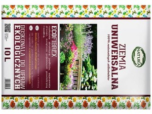 Universal soil Natura 10L peat and ecofibrex at Wasserman.eu