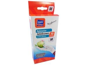 Disposable gloves latex size M 10 items at Wasserman.eu