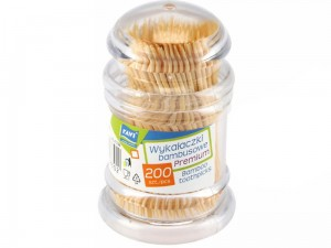 Bamboo toothpicks 200 pcs at Wasserman.eu