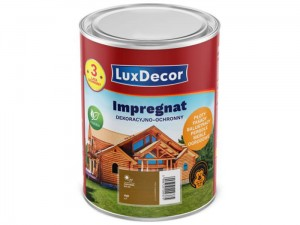 Decorative and protective impregnant LuxDecor 1L oak at Wasserman.eu