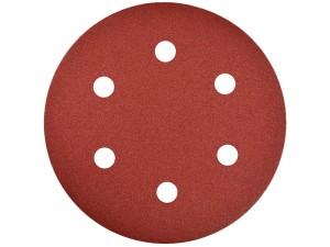 Abrasive paper 225mm with Velcro fastener, 6 holes Geko P180 at Wasserman.eu