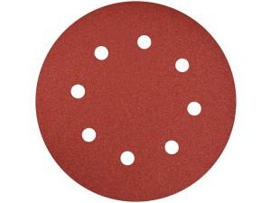 Abrasive paper 190mm, velcro, 8 holes Geko P240 at Wasserman.eu