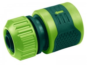 Feed-through fitting for garden hoses 1 / 2-5 / 8 at Wasserman.eu