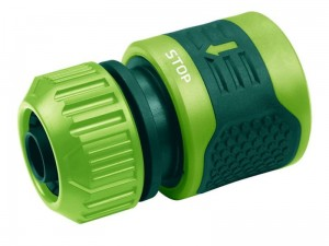 STOP quick coupler for garden hoses 1 / 2-5 / 8 at Wasserman.eu