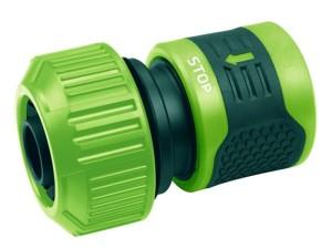 Quick coupler STOP for garden hoses 3/4 at Wasserman.eu