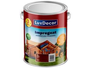 Decorative and protective impregnant LuxDecor 5L mahogany at Wasserman.eu