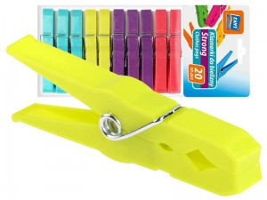 Strong clothes pegs 20 pieces at Wasserman.eu