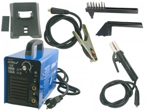 Inverter welder 160A + Mask Hammer Kable at Wasserman.eu