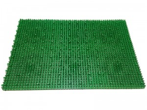 Doormat grass 58x39cm combined 5200 green at Wasserman.eu