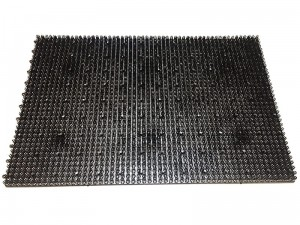 Doormat grass 58x39cm combined 5200 brown 5200 brown at Wasserman.eu