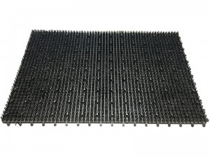 Doormat grass 58x39cm combined 5200 gray at Wasserman.eu