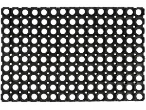 Rubber doormat 60x40cm th. 15mm at Wasserman.eu