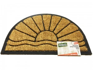 Doormat rubber coconut 60x40cm semi-circle Victor WZ6 at Wasserman.eu