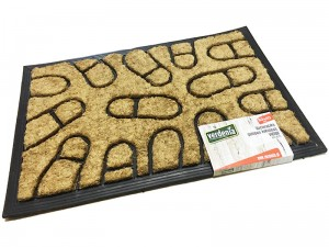 Coconut doormat with rubber 60x40cm Victor WZ5 4515 WZ5 at Wasserman.eu