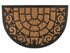 Coconut doormat rubber 60x40cm Hugo WZ4 at Wasserman.eu