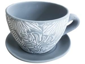 Ceramic flower pot 19cm cup with a Greta WZ4 base at Wasserman.eu