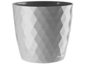 Flower pot Cristal 20cm, gray at Wasserman.eu