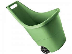 Lightweight 50L Keter garden wheelbarrow at Wasserman.eu