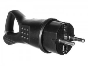 Rubber plug with handle 16A ground at Wasserman.eu