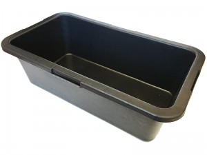 Rectangular construction container. Capacity 45 liters at Wasserman.eu