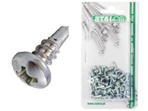 Flea screws, samovier galvanized TEX 3.5x9.5 100 pcs at Wasserman.eu