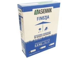 Mixture of grass seeds Finesse 0.9kg slow growing at Wasserman.eu