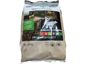 Bovine manure granules. 5L bag. Organic fertilizer at Wasserman.eu