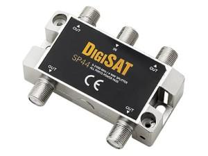 TV DigiSAT splitter 1x4 antenna splitter at Wasserman.eu
