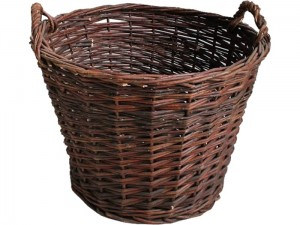 Large durable wicker basket for vegetables, leaves 45L at Wasserman.eu