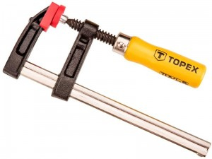 Carpentry clamp 50 x 150 mm Topex fixing at Wasserman.eu