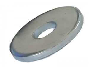 Galvanized widened washer for M8 screw by weight at Wasserman.eu