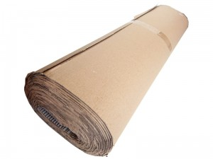 Corrugated cardboard, roll of 15 running meters at Wasserman.eu