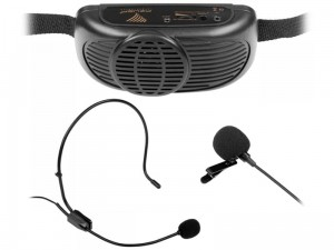 Portable sound system with a microphone at Wasserman.eu
