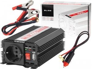 24V / 230V 600W / 300W voltage converter at Wasserman.eu